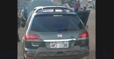 Homem é preso com veículo de procedência criminosa em Itabira.