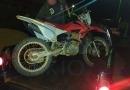 Polícia Militar prende dois homens com moto furtada