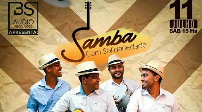 Live Solidária Grupo Sambez dia 11 de Julho