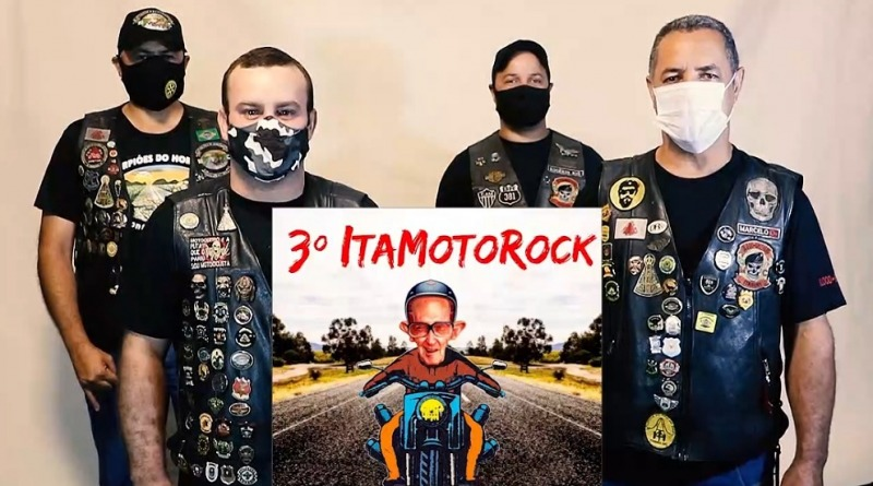 3° ITA MOTO ROCK – LIVE; SÁBADO AS 20 HORAS