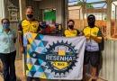 Resenhas Bike: Ciclistas fazem doações para o asilo de Itabira.