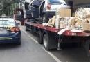 PRF apreende 200 kg de maconha dentro de Palio transportado sobre caminhão guincho em Minas Gerais