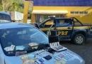 PRF prende estelionatários, em Realeza (MG)