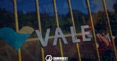 Ações da mineradora VALE S/A(VALE3) sobem +29,55% no mês, e alta é destaque na B3